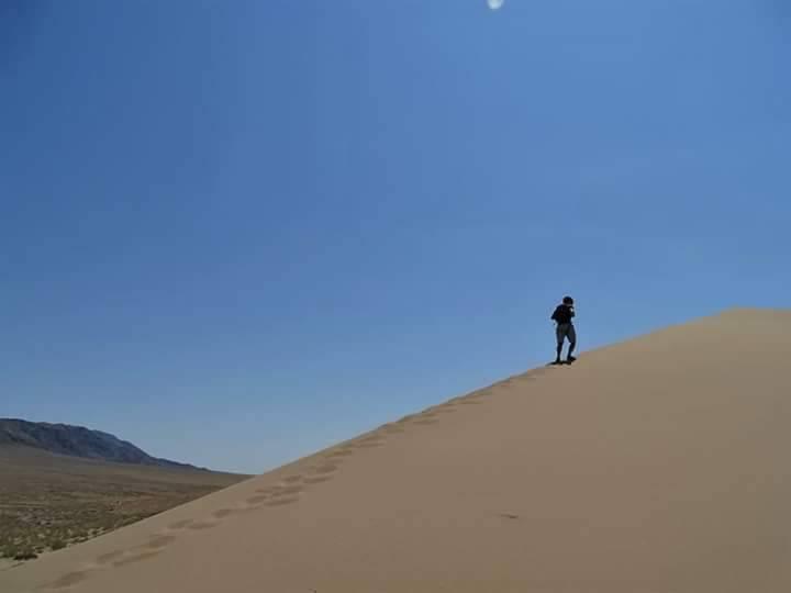 Photo 1: Parc Altyn Emel au Kazakhstan. Dunes, formations rocheuses et solitude.