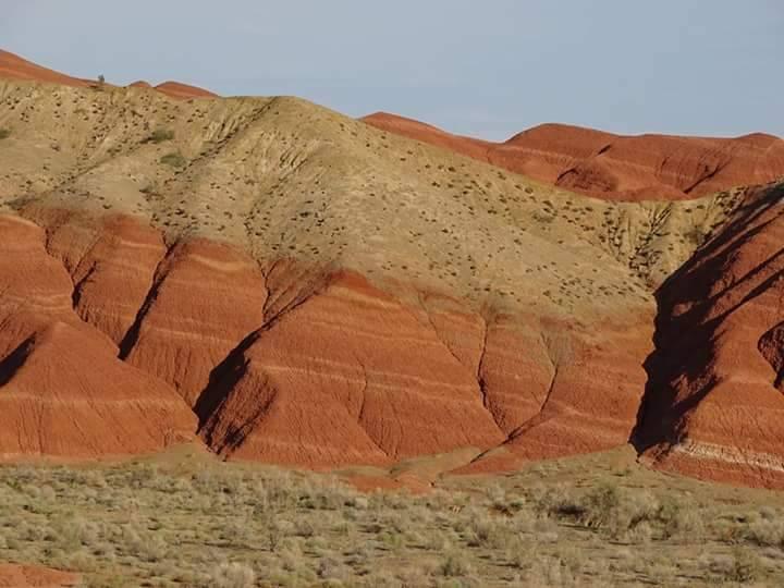 Photo 2: Parc Altyn Emel au Kazakhstan. Dunes, formations rocheuses et solitude.