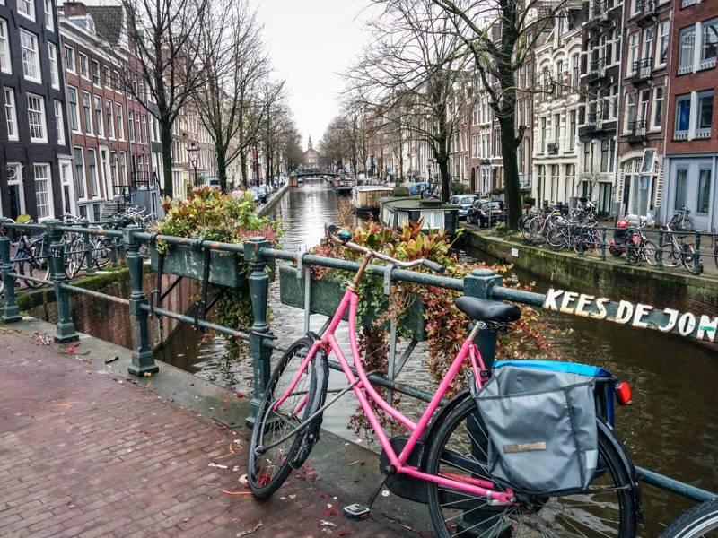 Photo 1: Amsterdam à vélo ! Testé et approuvé !