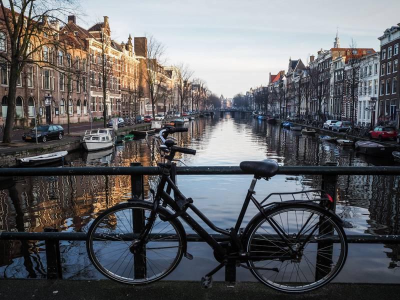Photo 3: Amsterdam à vélo ! Testé et approuvé !