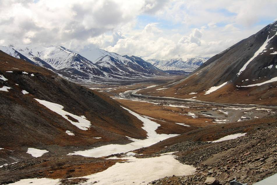 Photo 1: La Dalton Highway à vélo - Alaska