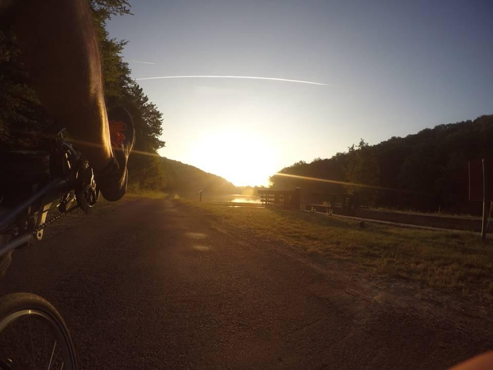 Photo 1: Le tour de la Bourgogne à vélo par les canaux