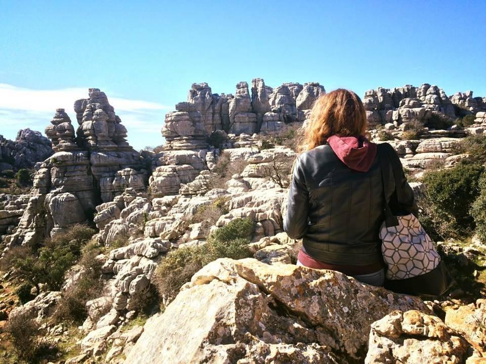 Photo 1: Un site de rochers sculptés par l'eau