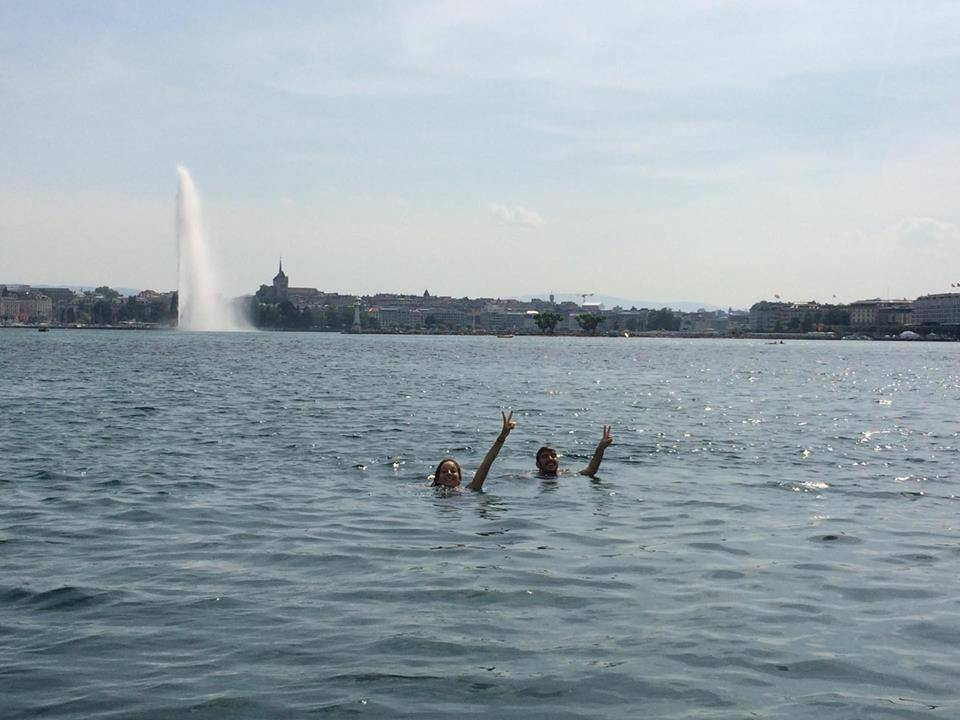 Photo 1: Prendre le large sur le Lac Léman