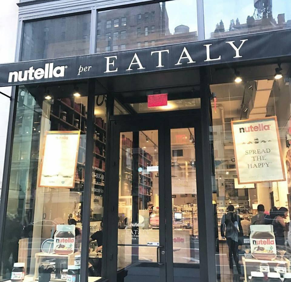 Photo 2: Nutella Bar - Eataly NYC / Un moment délicieux!