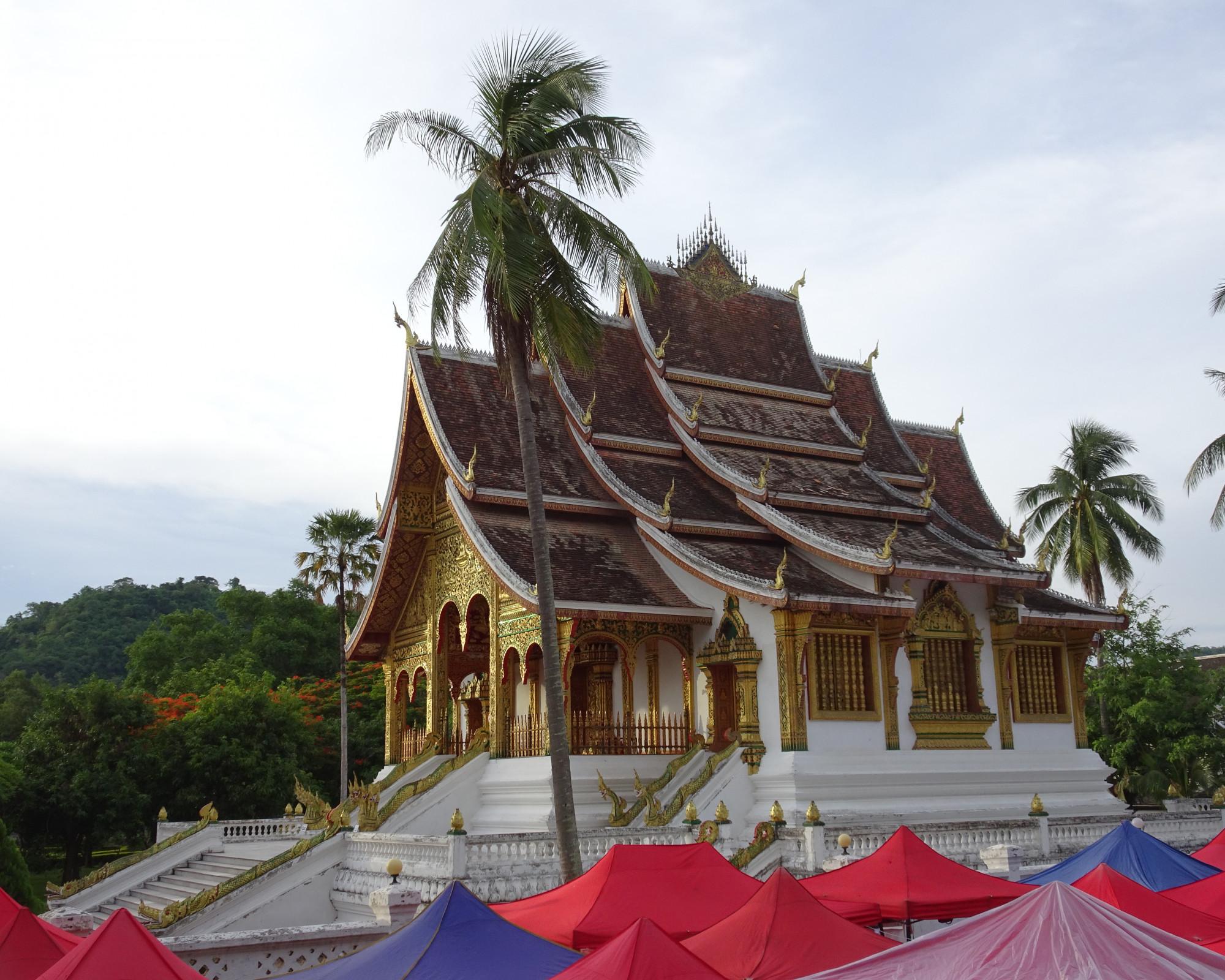 Photo 3: Luang Prabang, une perle sur le Mékong.