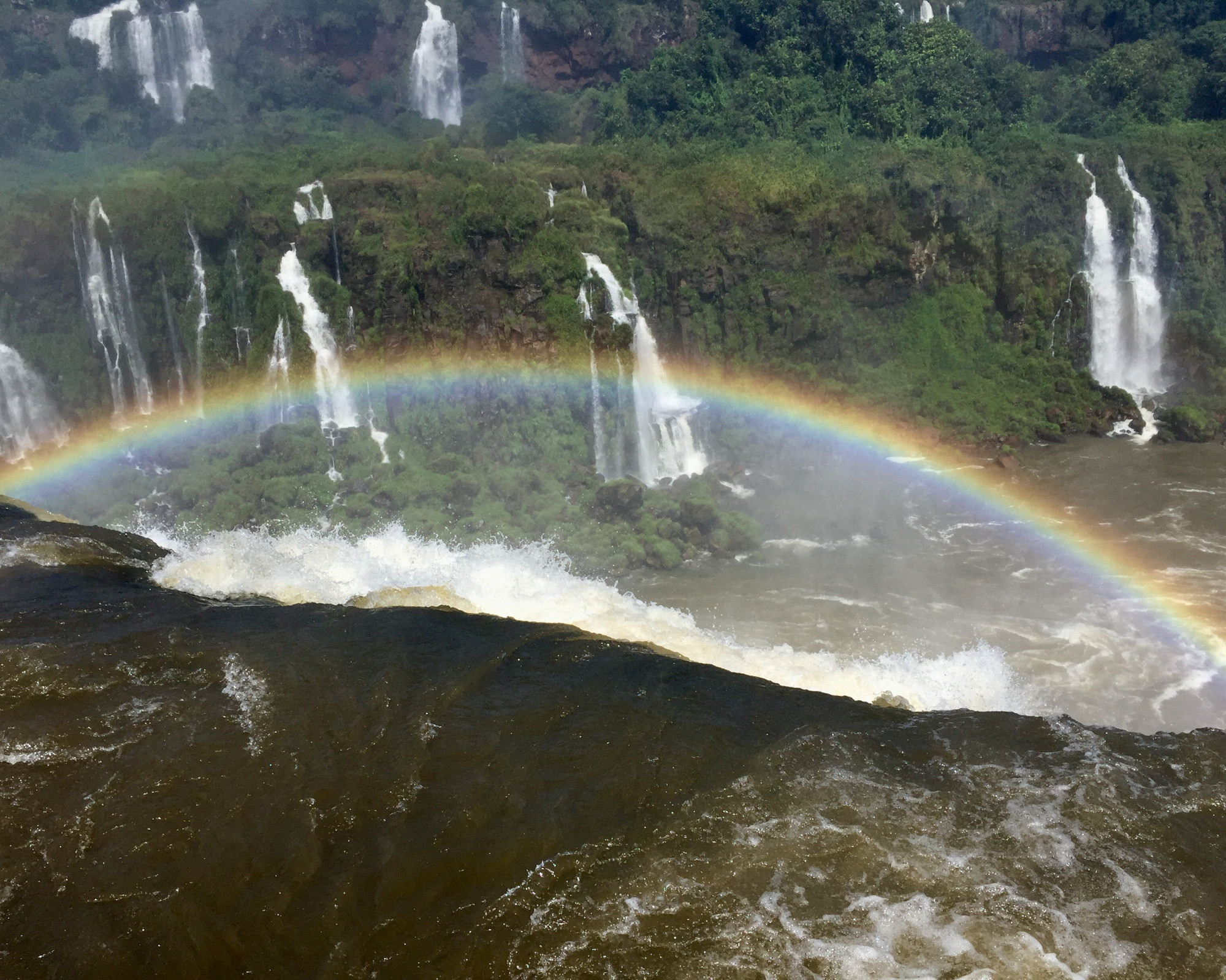 Photo 1: Iguazu sous arc en ciels