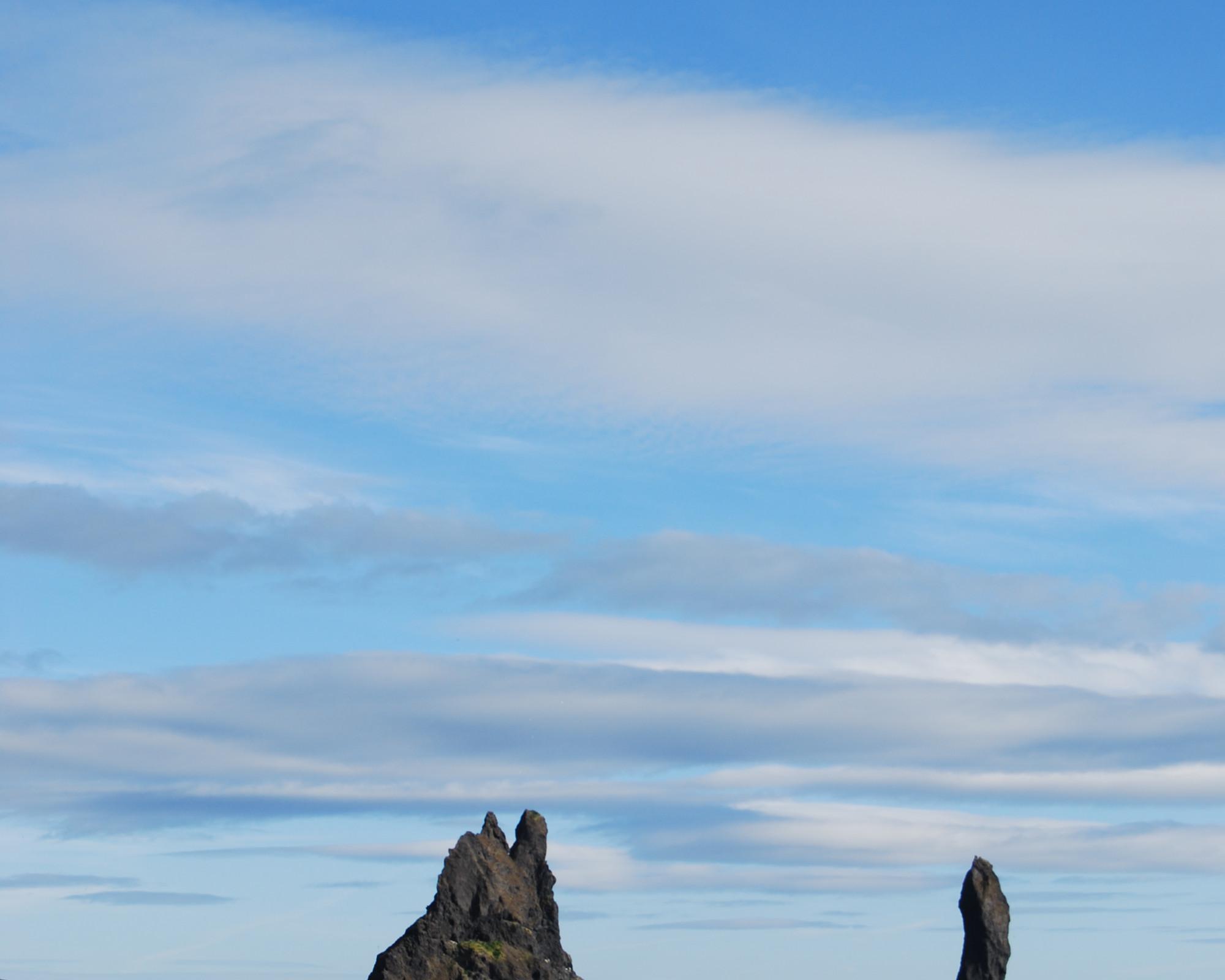 Photo 3: Reynisdrangar, au bord de l'océan