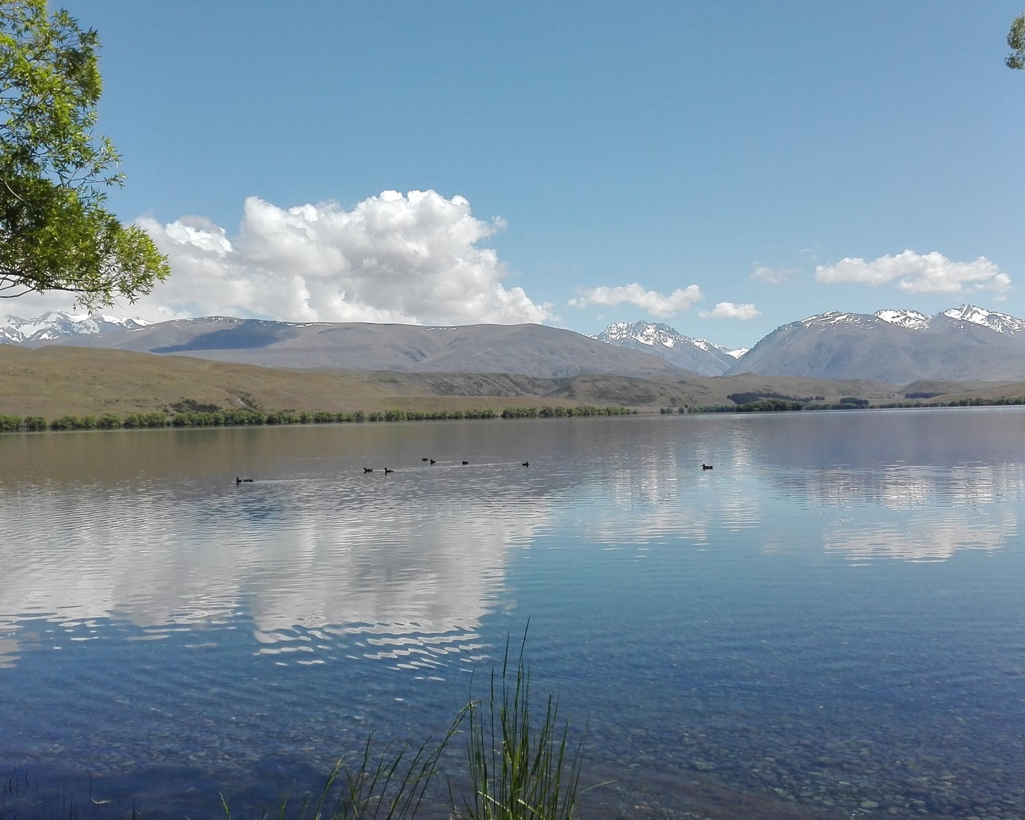 Photo 3: Lake Tekapo en Nouvelle-Zélande, la nature à l'état pur...